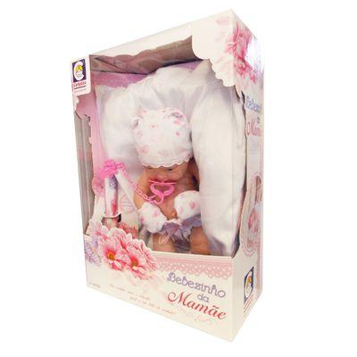 Boneca - Bebezinho da Mamãe de Fraldas - Coração - Cotiplás