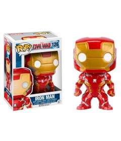Figura-Colecionavel---Funko-POP---Disney---Marvel---Iron-Man---Funko