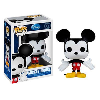 Figura-Colecionavel---Funko-POP---Disney---Mickey-Mouse---Funko