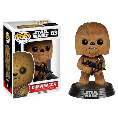 Figura-Colecionavel---Funko-POP---Disney---Star-Wars---Chewbacca---Funko