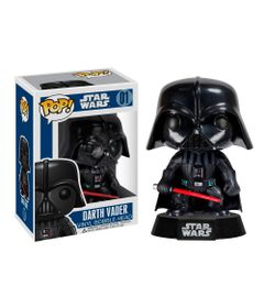 Figura-Colecionavel---Funko-POP---Disney---Star-Wars---Darth-Vader---Funko