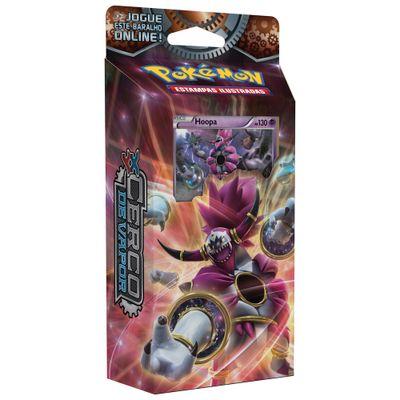 Deck Pokémon - Pokémon XY11 - Cerco de Vapor - Hoopa - Copag
