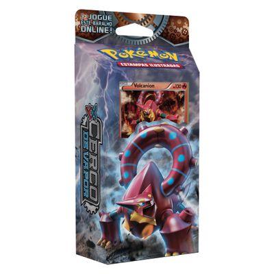 Deck Pokémon - Pokémon XY11 - Cerco de Vapor - Volcanion - Copag