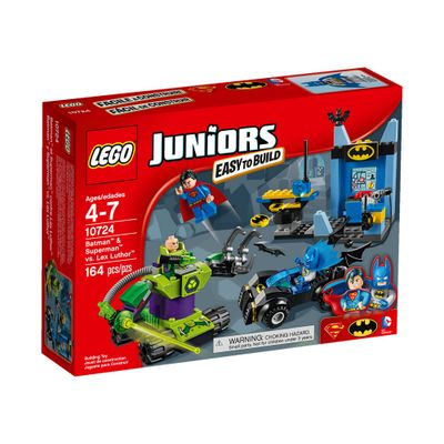 10724 - LEGO Juniors - Batman e Super-Homem contra Lex Luthor