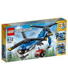 31049---LEGO-Creator---Helicoptero-de-Duas-Helices
