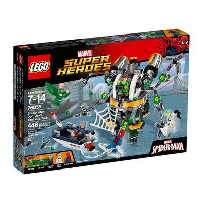 76059 - LEGO Super Heroes - Homem-Aranha: A Armadilha de Tentáculos de Doc Ock