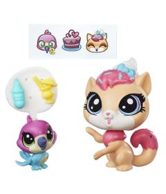Mini-Bonecas-Littlest-Pet-Shop---Sugar-Sprinkles-e-Hummy-Jewelfeather---Hasbro