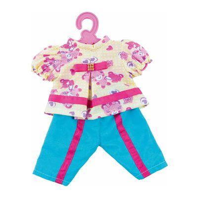 Roupinha de Boneca - Baby Alive - Calça Azul e Batinha - Cotiplás