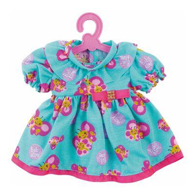 Roupinha de Boneca - Baby Alive - Vestido de Borboleta - Azul - Cotiplás