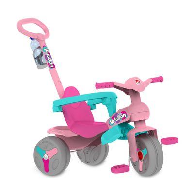 Triciclo Veloban Passeio - Rosa - Bandeirante