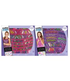 Kit-de-Artes---Conjunto-de-Micangas-Alfabeto---1200-Pecas---Totally-Me---New-Toys