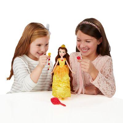 Boneca Articulada - Disney Princesas - Lindos Penteados - Bela - Hasbro
