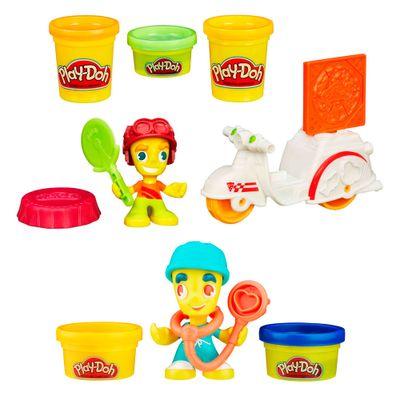 Compre-Play-Doh-Town---Entregador-de-Pizza-e-Leve-Play-Doh-Town---Medico---Hasbro
