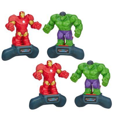 Kit-Boneco---Disney-Marvel-Battle-Masters-Heroes---Iron-Man-e-Hulk---Hasbro