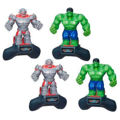 Kit Boneco - Disney Marvel Battle Masters Heroes - Ultron e Hulk - Hasbro