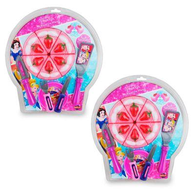 Kit Conjunto Comidinha - Bolo - Princesas Disney - Toyng