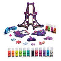 Kit-de-Artes-e-Atividades---DohVinci---Torre-de-Flores-e-Fotos-com-12-Refis---Hasbro