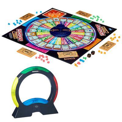 Kit de Jogos - Simon Air e Monopoly - Quebrando a Banca - Hasbro