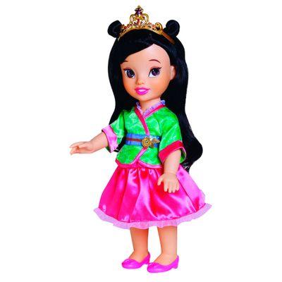 Boneca-Articulada---38-Cm---Disney-Princesas---Mulan---Sunny
