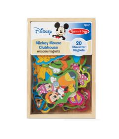 Figuras-de-Madeira-com-Ima---Personagens---Disney---Mickey-Mouse---New-Toys