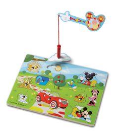 Pecas-de-Encaixe-de-Madeira-com-Ima---Disney---Minnie-Mouse---New-Toys