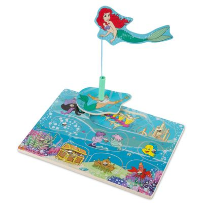pecas-de-encaixe-de-madeira-com-ima-disney-princesas-ariel-new-toys