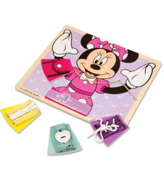 Pecas-de-Encaixe-de-Madeira---Disney---Minnie-Mouse---New-Toys