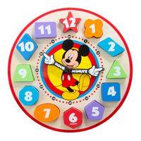 Relogio-em-Madeira---Disney---Mickey-Mouse---New-Toys