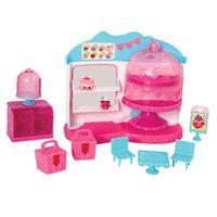 Playset-com-Acessorios---Shopkins---Cupcake-Queen-Cafe---DTC