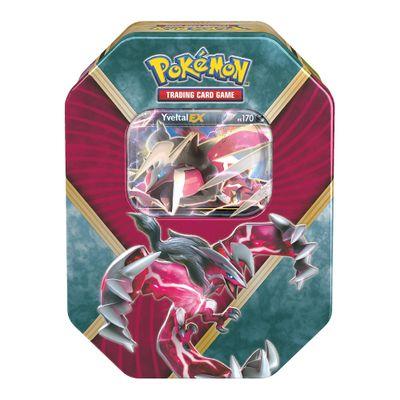 Jogo Pokémon - Deck Lata Pokémon EX - Yveltal - Copag