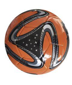 Bola-de-Futebol---Laranja-e-Preta---DTC