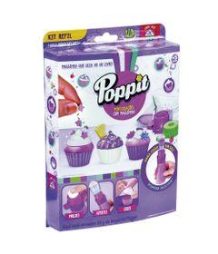 Conjunto-Massa-de-Modelar---Poppit---Refil-de-Massinhas---Minicupcakes---DTC