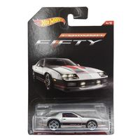 Carrinho-Die-Cast---Hot-Wheels---Camaro-Edicao-50-Anos---85-Camaro-Iroc-Z---Mattel