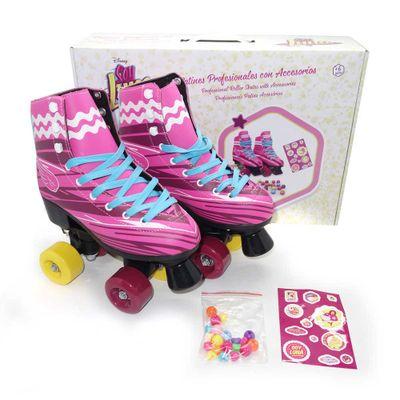 Patins-Roller---Tamanho-38---Soy-Luna---Multikids