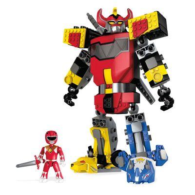 Mega Construx Power Rangers - Poderoso Megazord - Mattel