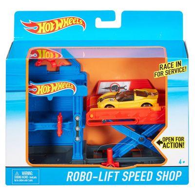 Conjunto-Hot-Wheels---Elevador-Robo-de-Velocidade---Mattel