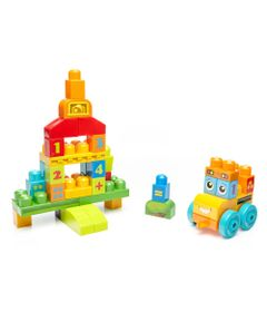 Mega-Blocks---Onibus-da-Escola-123---45-pecas---Fisher-Price