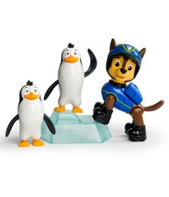 Mini-Figuras---Pack-de-Resgate-Amigo---Patrulha-Canina---Chase-e-Pinguins---Sunny