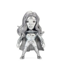 Figura-Colecionavel-6-Cm---Metals---DC-Super-Hero-Girls---Supergirl-Prata---DTC