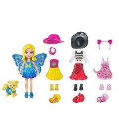 Mini-Boneca---Polly-Pocket---Festa-a-Fantasia---Polly-e-Cachorrinho---Mattel