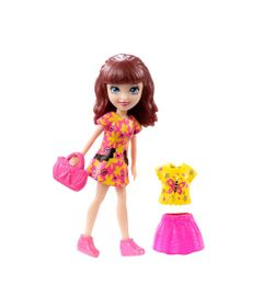 Mini-Boneca---Polly-Pocket---Shani-Festa-Neon---Mattel