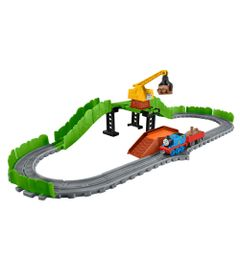 Playset---Thomas-e-Friends---Trilhos-do-Ferro-Velho---Fisher-Price