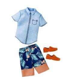 Roupinha-para-Bonecos-Ken---Hawaiian-Style---Mattel