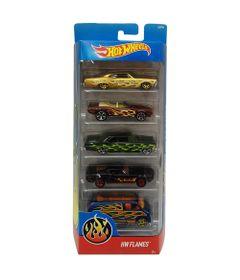 Carrinhos-Hot-Wheels---Pacote-com-5-Carros---HW-Flames-II---Mattel