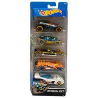 Carrinhos-Hot-Wheels---Pacote-com-5-Carros---HW-Formula-Space---Mattel