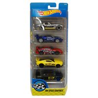 Carrinhos-Hot-Wheels---Pacote-com-5-Carros---HW-Speed-Graphics---Mattel