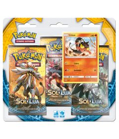 Deck-Pokemon---Triple-Pack---Pokemon-Sol-e-Lua---Litten---Copag