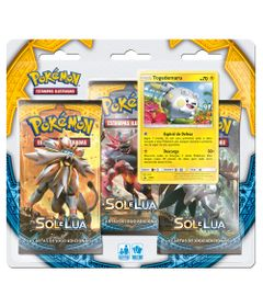 Deck-Pokemon---Triple-Pack---Pokemon-Sol-e-Lua---Togedemaru---Copag