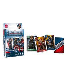 Jogo-de-Cartas---Disney---Marvel---Capitao-America---Batalha-de-Herois---Copag