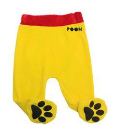 Calca-Culote-em-Plush---Ursinho-Pooh---Amarelo---Disney---M